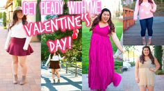 Get Ready With Me | Valentine's Day! Hair, Makeup, & Outfit Ideas!