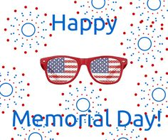 Wishing you and your family a safe and happy Memorial Day from 20/20 Image Eye Centers!