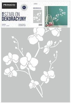 Malířská dekorační šablona Orchidea Color, Home Decor, Decoration Home, Room Decor, Colour, Home Interior Design, Home Decoration, Interior Design, Colors