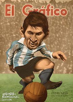 Leo Messi, El Gráfico