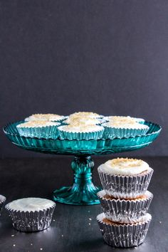 Gingerbread Cupcakes with Orange Buttercream Frosting | The Chef Next Door