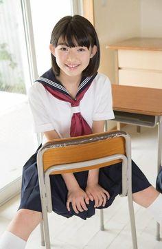 Japanese schoolgirl in Sailormoon School Uniform Japanese School Uniform Girl, School Girl Japan, School Girl Outfit, School Uniform Girls, High School Girls, Japan Girl, Girl Outfits, Cute School Uniforms, Girls Uniforms