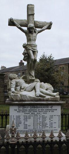 The Graveyard Detective: Catholic War Memorial