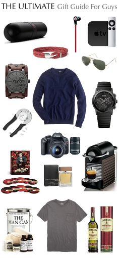 The Ultimate Gift Guide - For the Guys
