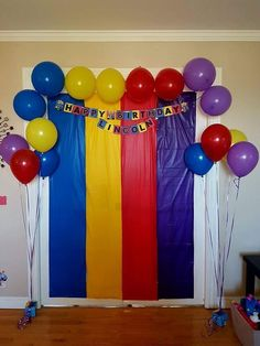 Wiggles Birthday, Wiggles Party, Sons Birthday, Baby First Birthday, 3rd Birthday Parties, Birthday Ideas, Emma Wiggle, Twins 1st Birthdays, Birthday Party Decorations