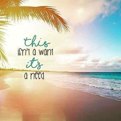 I need a vacation to the beach soooo badly! I need a vacation soooo urgent! Ocean Beach, Beach Bum, Beach Trip, Tumblr New York, Ocean Quotes, Beach Life Quotes, Funny Beach Quotes, Beach Quotes And Sayings, Aloha Quotes