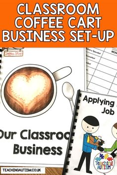 Do you want your students to experience life and work skills in your classroom? Are you ready to set up a classroom business? If so this classroom coffee cart business set-up pack is perfect! Autism Teaching, Teaching Special Education, Autism Classroom, Back To School Activities, Hands On Activities, Classroom Activities, School Ideas, Life Skills Classroom, Teaching Life Skills