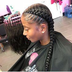 hairstyle tutorial women hairstyles highlights bangs,afro hairstyles twist black african short hairstyles,new african hairstyles 2016 bouffant hairstyle. French Braid Hairstyles, Braided Hairstyles For Black Women, Braids For Black Hair, My Hairstyle, Girl Hairstyles, Black Hairstyles, School Hairstyles, Hairstyle Ideas, Hair Ideas