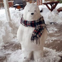 cartoonnetwork: Ice Bear is loving this weather. Photo by https://www.instagram.com/tab.bes/ *__________________*