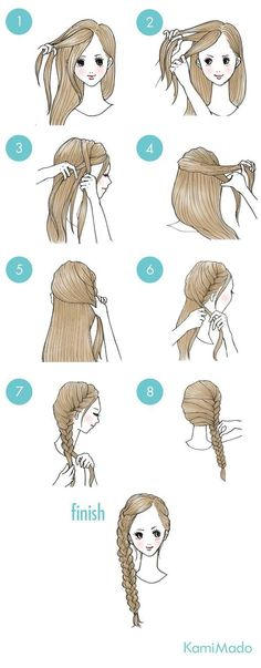 wedding hairstyles easy hairstyles hairstyles for school hairstyles diy hairstyles for round faces p Hairstyles For School, Cute Hairstyles, Braided Hairstyles, Wedding Hairstyles, Kawaii Hairstyles, Cute Simple Hairstyles, Pretty Hairstyles, Hair Arrange, Hair Dos