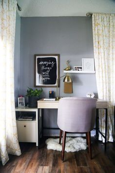 Tips For Creating A Budget Home Office Nook For Your Home Where You Can  Focus On