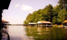 Lake Gaston, VA #lakebound #beautiful #home