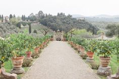 Sunset elopement inspiration from Tuscany via Magnolia Rouge
