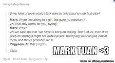 Mark Tuan's effortless charm!! :D | allkpop Meme Center