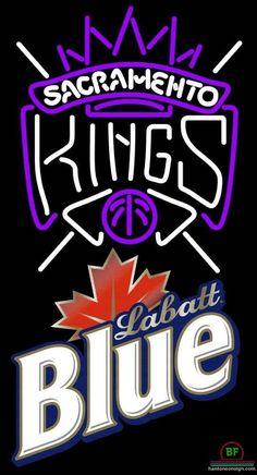 Labatt Blue Sacramento Kings Neon Sign NBA Teams Neon Light