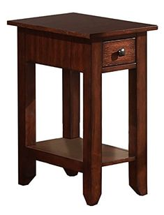 Zahara End Table w Drawer