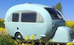 Small Travel Trailers, Small Camper Trailers, Small Camping Trailer, Small Trailer, Small Campers, Vintage Campers Trailers, Cool Campers, Small Rv, Camping Trailers