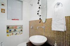 Baños de estilo ecléctico por Patrícia Azoni Arquitetura + Arte & Design