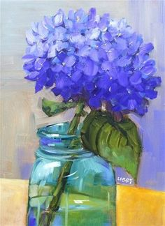 """Daily Paintworks - """"True To Form"""" by Libby Anderson"""