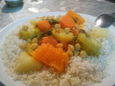 קוסקוס עם מרק ירקות - מהשמנמנה באהבה - תפוז בלוגים
