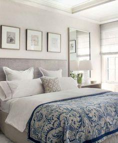 Интерьер современной спальни с матрасом Lordflex.