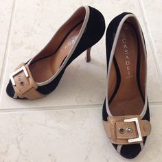 Casadei pumps 6.5 made in Italy. Great condition! Peep toe show from casadei. Beautiful!! Casadei Shoes Heels