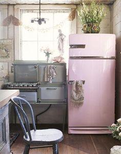 apartmenttherapy - retro tasarım buzdolabı