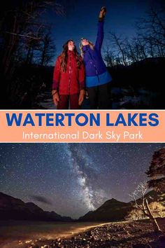 Waterton National Park is the world's first transnational international dark sky park spanning two countries - #Canada and the USA. Head here for an epic tour with Dark Sky Guides or strike out on your own to capture some amazing star drenched images. #nightskies #stargazing #Watertonphotoshoot #WatertonNationalPark #WatertonLakesNationalPark #WatertonAlberta #WatertonLakesNationalParkCanada #Alberta #AlbertaTravel