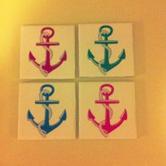Hello Captain!  Anchor Coasters!