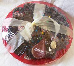 Matisse Chocolatier - Gourmet Chocolate Platter 16 Inch Ready To Ship, $75.00 (http://www.getfreshchocolate.com/gourmet-chocolate-platter-16-inch-ready-to-ship/)