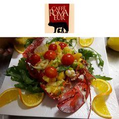 Non ha un aspetto meraviglioso? #cafferomaeur🍷  #salad #fresh #aperitivo #ingredientifreschi