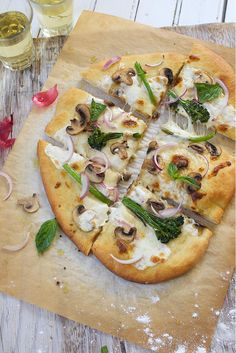 Pizza Crust Recipe With instructions on how to make it for now or later.