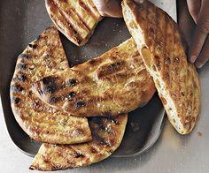 Grilled Olive-Orange-Fennel Flatbread by Fine Cooking
