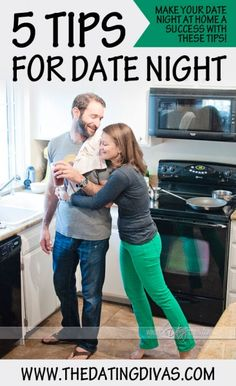 5 super easy steps to make date night at home successful!
