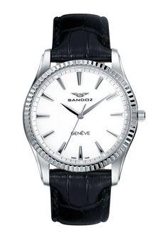 3d8d55200aedc Reloj Sra Sandoz Classic   Slim 81308-00. Relojes. Acero Máquina Suiza  Cristal Zafiro Correa ...