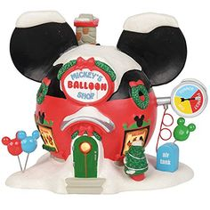 Shop a great selection of Department 56 Disney Village Mickey's Balloon Inflators Lit Building, Inch, Multicolor. Find new offer and Similar products for Department 56 Disney Village Mickey's Balloon Inflators Lit Building, Inch, Multicolor. Disney Christmas Village, Department 56 Christmas Village, Mickey Christmas, A Christmas Story, Christmas Ornaments, Christmas Tree, Balloon Inflator, Poke The Bear, Mickey Balloons