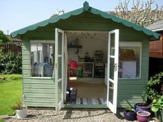 You can have your craft room Lewis. I want a craft cottage! Coin Couture, Space Crafts, Home Crafts, Craft Space, Holiday Crafts, Kids Crafts, Craft Shed, Craft House, She Sheds