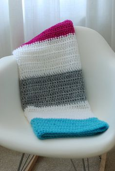 no pattern - double crochet, like colors