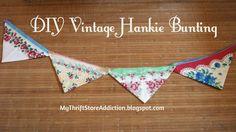 My Thrift Store Addiction : Friday's Find: Hankie Heaven!
