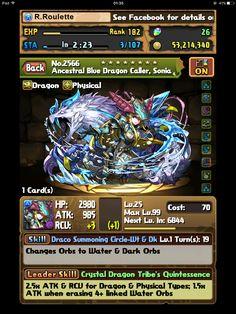 Ancestral Blue Dragon Caller, Sonia