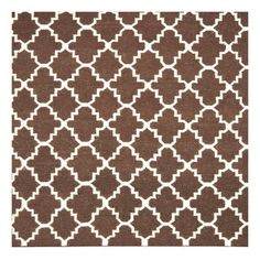 Bursa Rug 6' Square Brown/Ivory now featured on Fab.