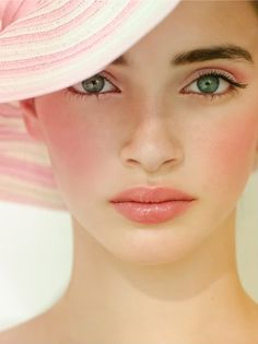 {Sweet Summer Romance}: A Palette of Shades of Pink, Green White