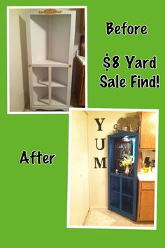 Upcycle yard sale find!!! Oh my I hope I could get so lucky as to find something like this!!!
