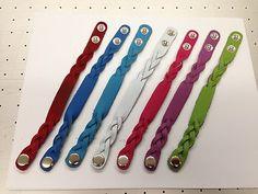 100 Leather Bracelets For Laser Engraving Machine 7 Colors Ebay