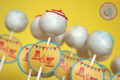 Cake pop labels - this would be easier than doing a detailed pop