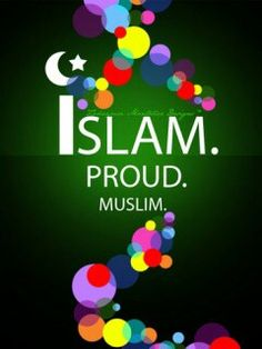 Proud Muslim-Girl :-) ♡Green the coulour of Islam♡