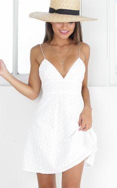 showpo showpo dress white dress white dress casual dress white casual dress - Casual Dresses - Ideas of Casual Dresses Trendy Dresses, Cute Dresses, Short Dresses, Prom Dresses, Summer Dresses, Casual Dresses For Women, Women's Dresses, Cute White Dress, White Dress Summer