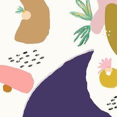 SUNDAY//  .  .  .  .  .  .  .  .  .  .  .  #illustration #illustratorsofinstagram #painting #paint #drawing #drawing #abstract #abstractart #plants #cacti #cactus #succulents #pattern #vscocam #liveauthentic #illustrationart #artdirection #artist #eclectic #kinfolkmag #kinfolk #minimalism #minimalist #artwork #leaf #botanical #fashionista