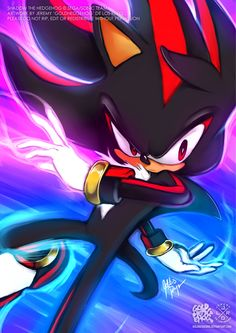 Shadow the Hedgehog - CHAOS CONTROLby  goldhedgehog  Permission granted by artist to repost.