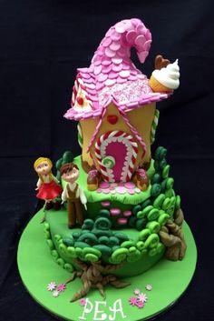 Hansel and Gretel Cake - Cake by Galatia - CakesDecor